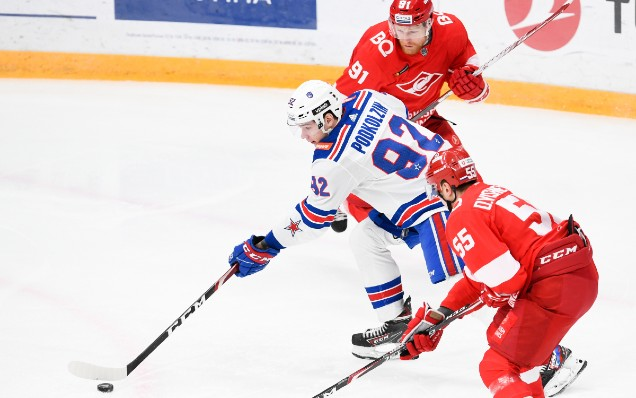 Spartak - SKA. Introducing the opponents