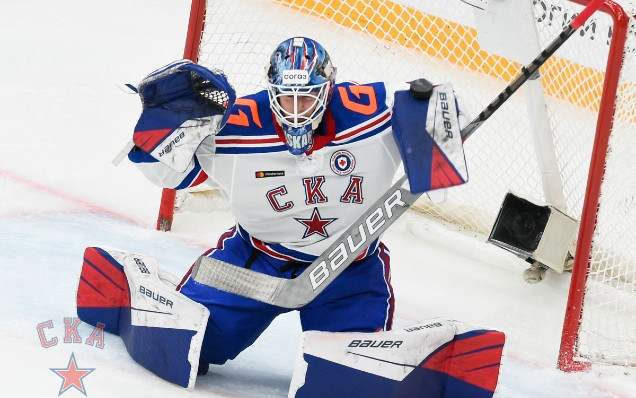 Yaroslav Askarov is the best KHL goalkeeper and rookie of the week!