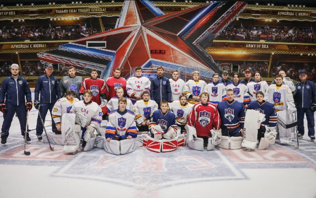 Sergei Bobrovsky held a master class for members of the SKA Academy