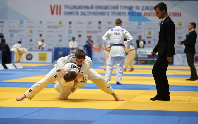 We congratulate the Saint Petersburg Judo Federation with its anniversary!