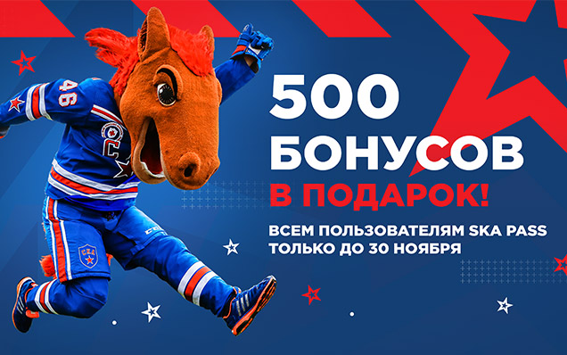 500 bonus points as a gift! Only until November 30