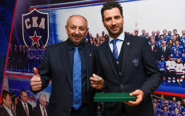 "Cooperation agreement between HC SKA and the ""Sport is the Right Way to Live"" project"