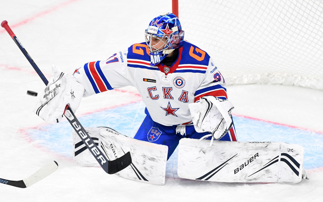 Alexander Samonov and Stepan Starkov speak after beating Salavat Yulaev