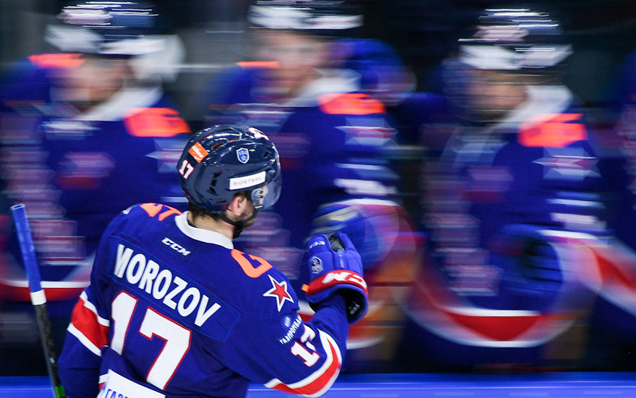 "Ivan Morozov: ""We managed to score our goals in the third period"""